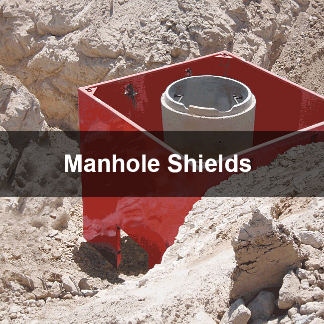 manhole shields equipment rentals