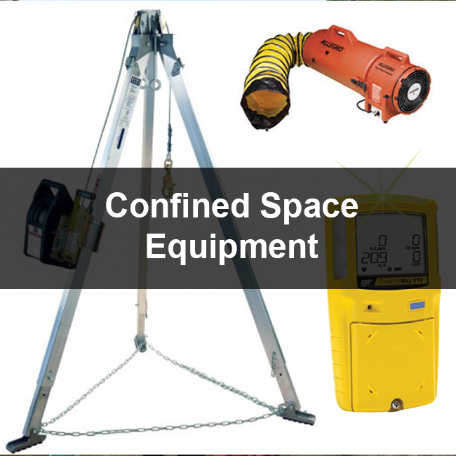 Confined space equipment for trench shoring in florida area